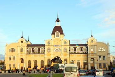 Залізничний вокзал, Луцьк