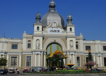 Железнодорожный вокзал, Львов