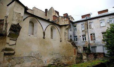 Руїни синагоги Золота Роза, Львів