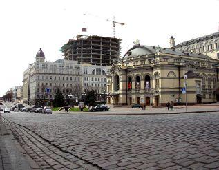 Театральная площадь, Киев