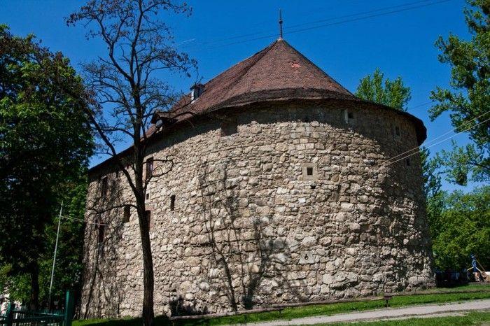 Порохова вежа старые карты юхновского уезда