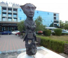 Скульптура Гарри Гудини, Ужгород