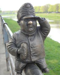 Скульптура Солдат Швейк, Ужгород