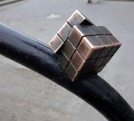 Скульптура Кубик Рубік, Ужгород