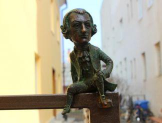 Скульптура Вольфганг Амадей Моцарт, Ужгород