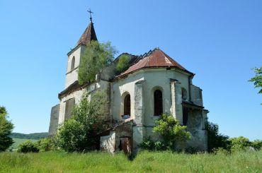 Костел Святої Трійці в селі Соколівка