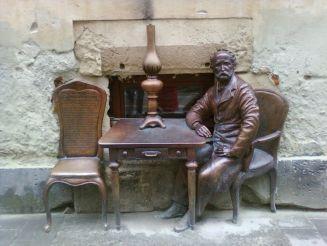 Памятник изобретателям керосиновой лампы, Львов