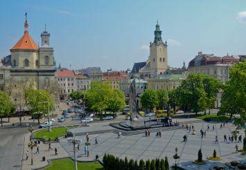 Svobody Avenue in Lviv