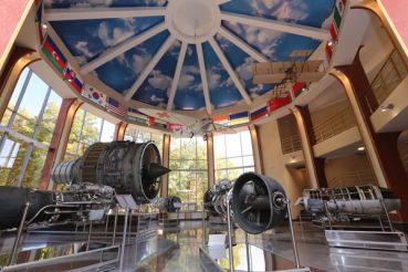 """Motor Sich"" Museum of Aviation and High-Tech (Boguslayev Technical Museum)"