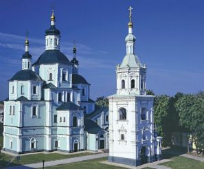 Holy Resurrection Cathedral in Sumy