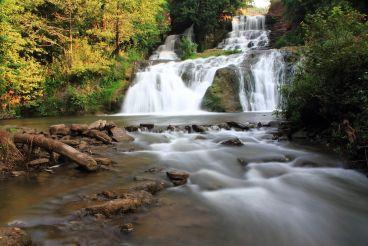 Джуринський водоспад, Нирків