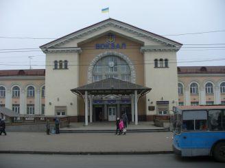 The railway station, Vinnitsa
