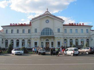 Железнодорожный вокзал, Херсон