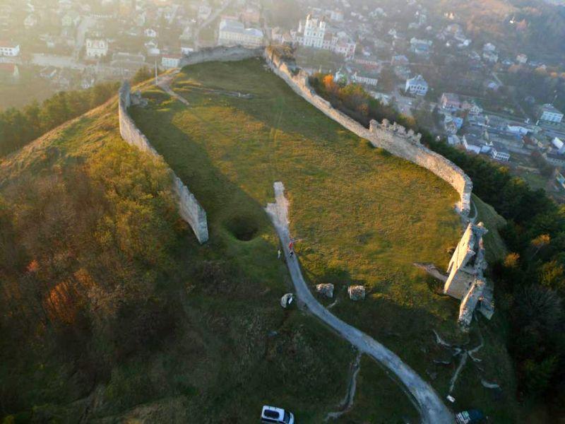 Кременецький замок, Кременець Україна: фото, опис, на карті.