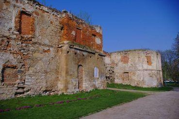 Бережанський замок, Бережани