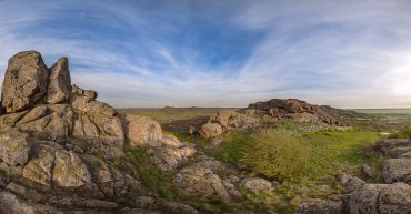 Stone Tombs Reserve in Donetsk region