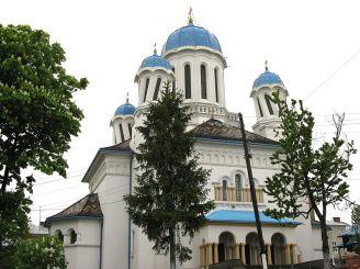 St Nicholas Cathedral in Chernivtsi