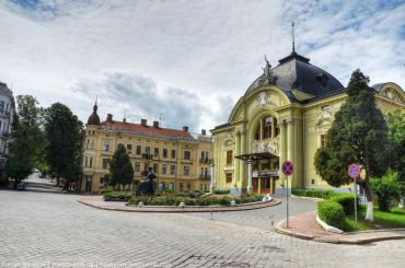 The Chernivtsi Music and Drama Theatre named after Ol'ha Kobylians'ka