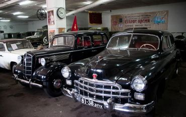 Museum of vintage cars