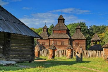 The Museum of Folk Architecture and Life of Ukraine «Pyrohiv»