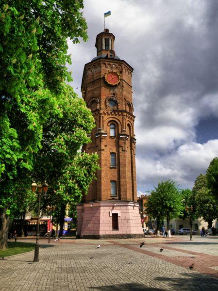 Водонапорная башня винница