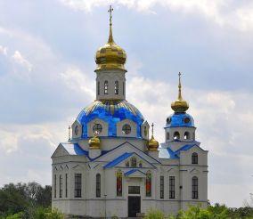 Церковь Успения Пресвятой Богородицы в Новоселовке
