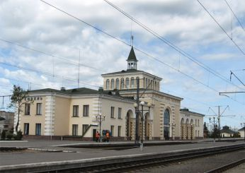 Railway station, Kovel