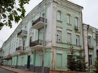 Дом-обманка, Киев
