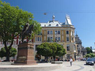 Halytska Square, Lviv