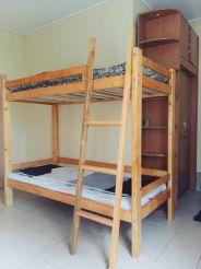 Двоярусне ліжко в змішаному загальному номері (гуртожиткового типу)