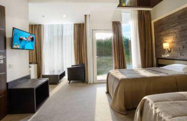 Стандартный двухместный номер с 2 отдельными кроватями и балконом