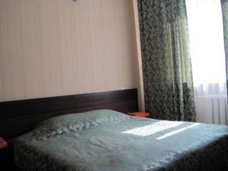 Двомісний номер з 1 двоспальним ліжком або 2 окремими ліжками й душем
