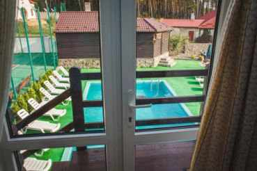 Suite with Pool View