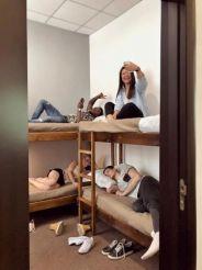 Кровать в общем 6-местном номере