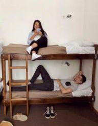 Кровать в общем 8-местном номере