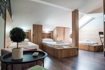 Односпальне ліжко в загальному номері (гуртожиткового типу)