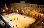 Lviv opened a skating rink