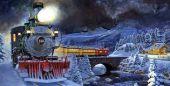 Во Львове будет курсировать ретро-поезд Деда Мороза