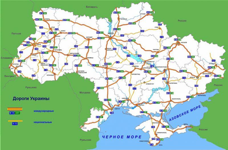 In Ukraine GIS road map
