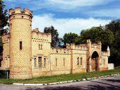 Do reconstructed castle Popov in Vasilevka?