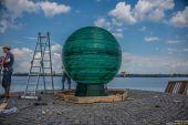 Новый арт-объект в Днипре: обновили «Шар желаний»