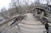 В Киеве раскопали лестницу 16 века