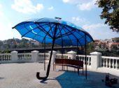У Кам'янці-Подільському встановили «сонячну парасольку»