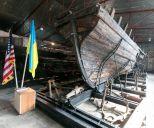 В Запорожье отреставрировали древние корабли