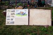 На территории Хустского замка установили информационные стенды