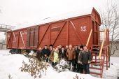 Харьковские железнодорожники открыли музей в вагоне