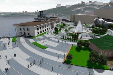 В Киеве реконструировали Почтовую площадь