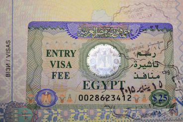 Стоимость визы в Египет повышаться не будет
