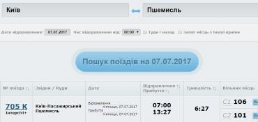 Теперь железнодорожные билеты в Польшу можно купить онлайн