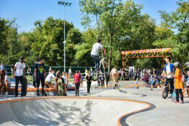В Одессе открылся самый большой скейт-парк